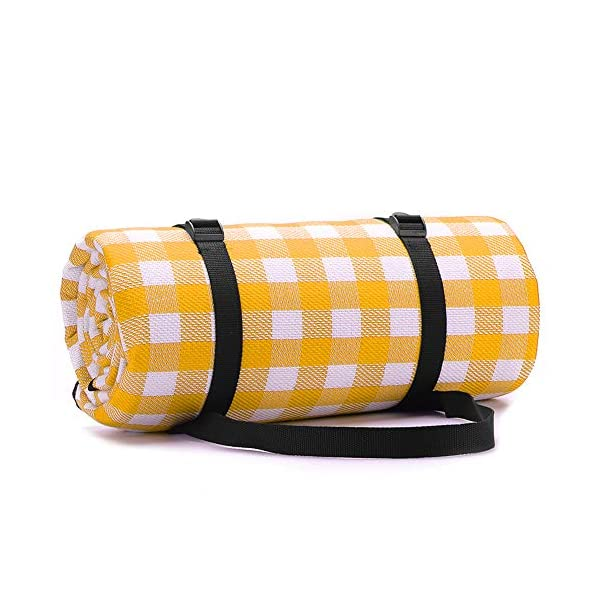 51T0MPGmvIL Simpeak Picknickdecke Wasserdicht 150x200 cm, Campingdecke wasserdichte Stranddecke für Strände/Picknicks/Parks/Camping…