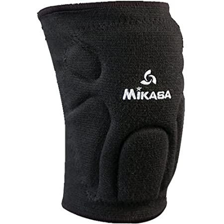 2 Sizes: Youth Club Players to Adult//Juniors High School//Collegiate Mikasa Competition High End Moisture Management Volleyball Knee Pads