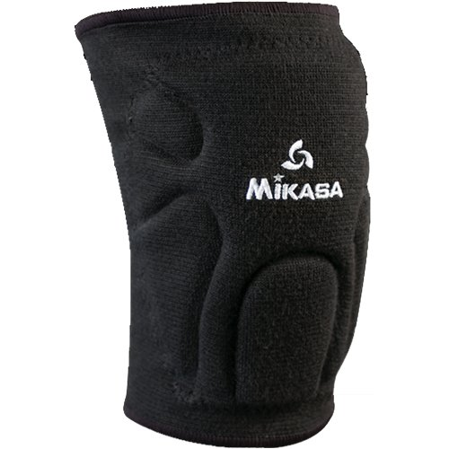 Mikasa Black Juniors/Adult Competition Volleyball Knee Pads High End Moisture Management