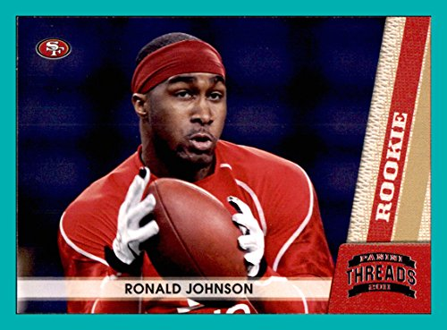 2011 Panini Threads #234 Ronald Johnson RC Rookie SAN FRANCISCO 49ers USC TROJANS