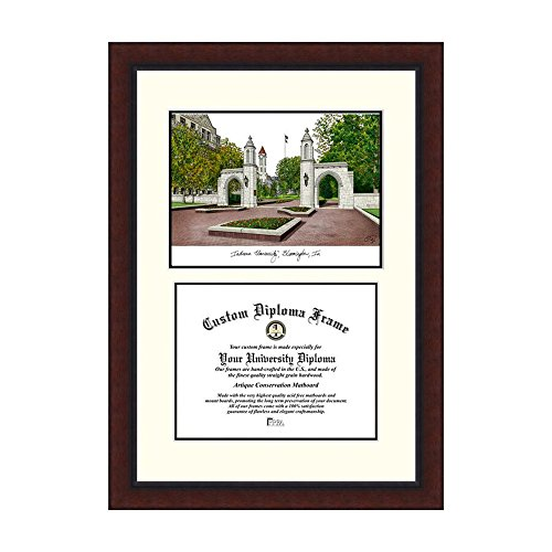 Campus Images NCAA Indiana University Bloomington Legacy Scholar Frame by Campus Images