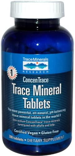 Trace Minerals Concentrace Mineral Tablets