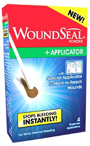WoundSeal Powder for Nosebleeds + Applicator, 4 Each (Pack of 3)