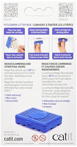 Pet Supplies Catit Magic Blue Refill Pads Cat Supplies