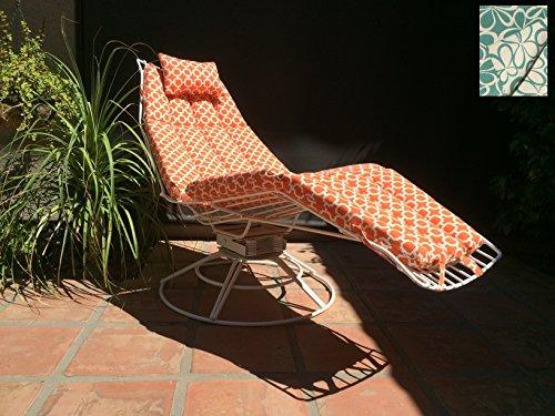 Cheap LaCerte Patio Lounge Chair – Black Textured frame & Sunbrella Linen Antique cushion