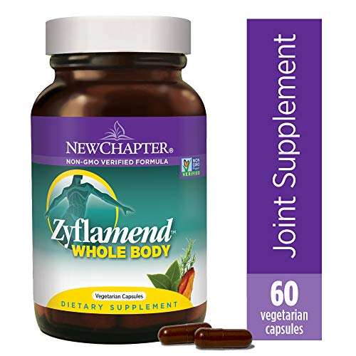 New Chapter Multi-Herbal + Joint Supplement, Zyflamend Whole Body for Healthy Inflammation Response + Herbal Pain Relief - 60 Count (The Best Anti Inflammatory Herbs)
