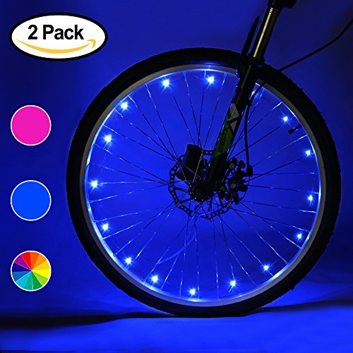 Blue Led Cycle Light - 2