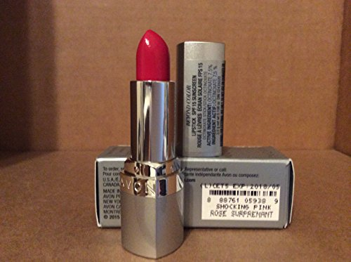 Avon Beyound Color Lipstick Spf 15 Sunscreen Shocking Pink (Spf 15 Lipstick Pink)
