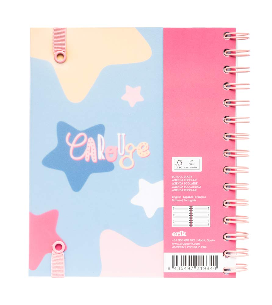 Amazon.com : Carouge Weekly Planner, Dated Middle School or ...
