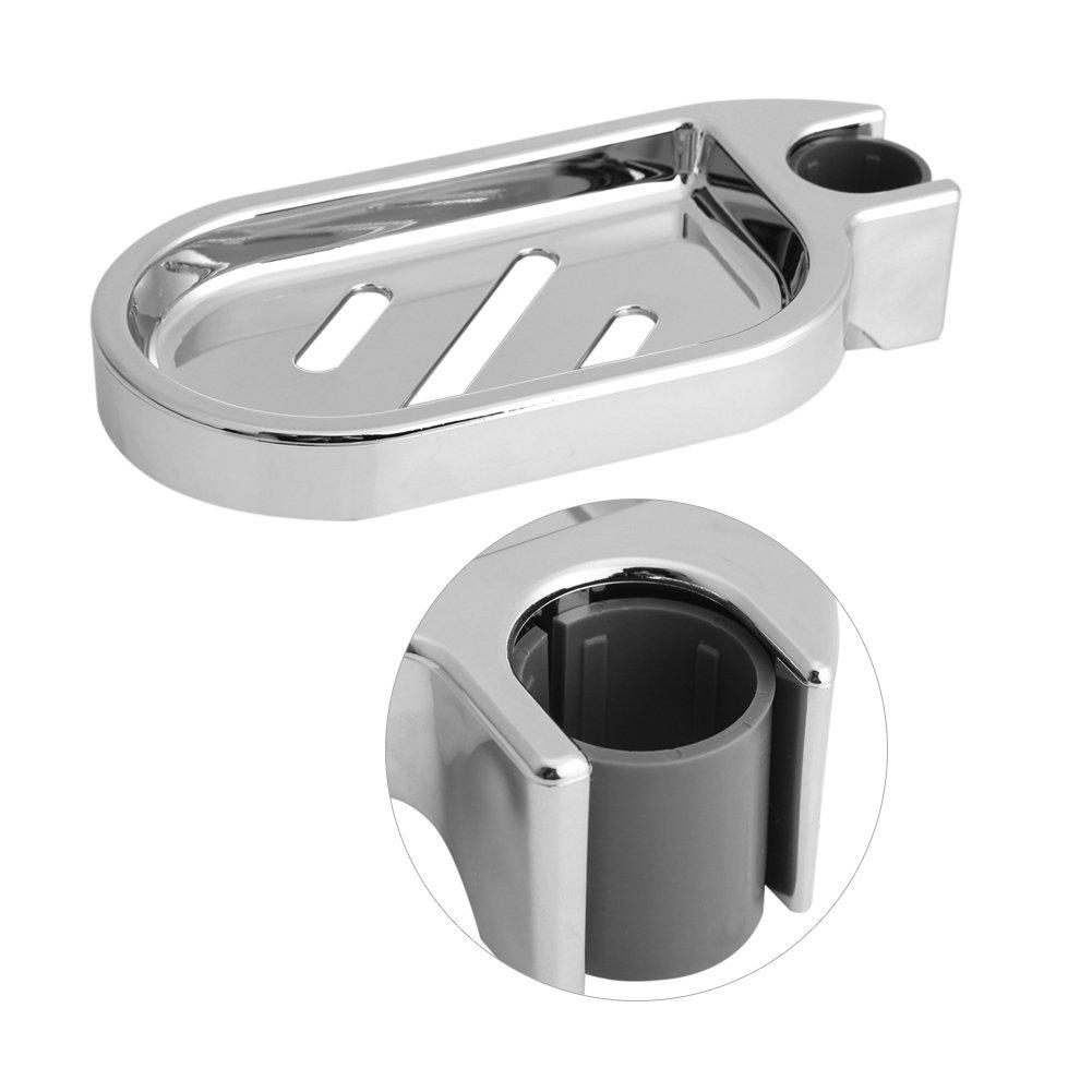 Dewin Portasapone - Portatovaglioli in ABS, scivolo doccia regolabile per doccia Pratico gadget da bagno