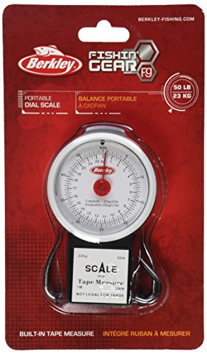Berkley 50 Pound Portable Scale Measure