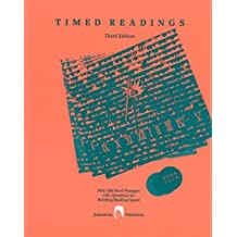 Timed Read in Literature Book 4: Fifty 400-word Passages with Questions for Building Reading Speed