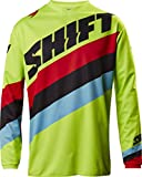 Shift 2017 White Label Tarmac Jersey-Flo Yellow-L