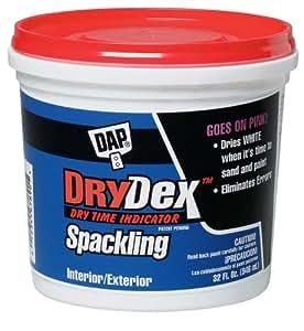DAP 12330 Dry Time Indicator Spackling, 1-Quart Tub
