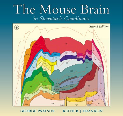 The Mouse Brain in Stereotaxic Coordinates (Deluxe Edition), Second (Deluxe Brain Model)