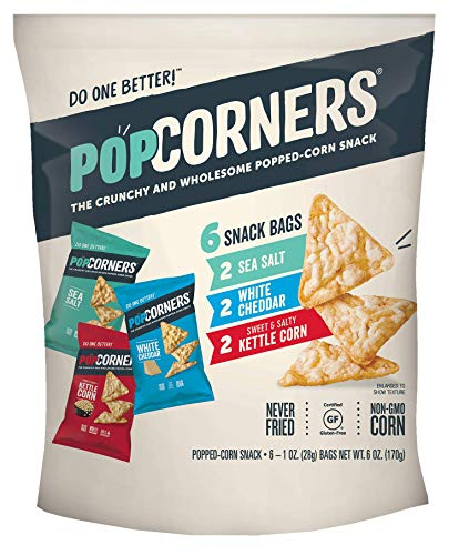 (POPCORNERS PACK VARIETY 6 COUNT)