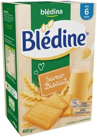 Blédina Cereales 400G 6 Meses Sabor De Bizcocho: Amazon.es: Ropa y accesorios