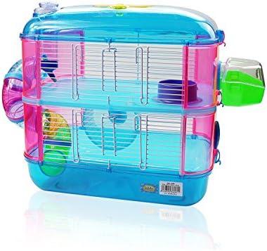 DI ZE LIN PET HOME S.L DZL® Jaula para hamster de plástico duro ...