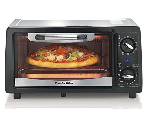 Proctor Silex 31140 4-Slice Electric Counter-Top Toaster Oven with Timer (Proctor Silex Toaster Oven Pan compare prices)