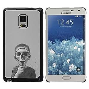 Exotic-Star ( Skull Deep Dark Biology Science ) Fundas Cover Cubre Hard Case Cover para Samsung Galaxy Mega 5.8 / i9150 / i9152