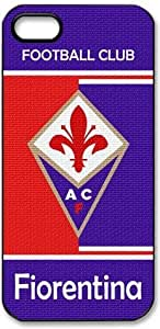 Fiorentina Logo FC HD image case cover for iphone 5 black A Nice Present