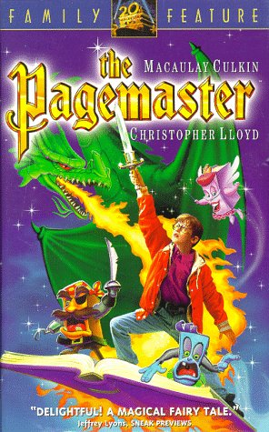 Image result for the pagemaster