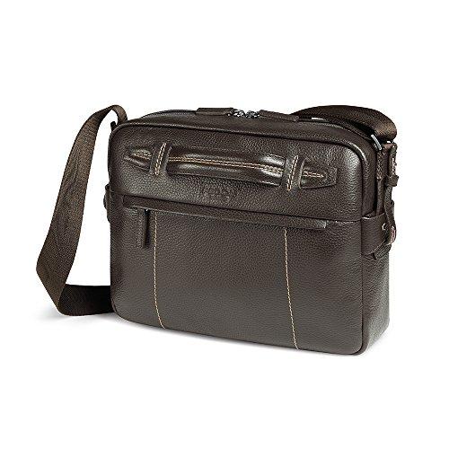 Giorgio Fedon Venezia Piel Contemporáneo Tablet Messenger Bag