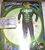 Green Lantern Hal Jordan Costume Boys XL 14-16 NIP