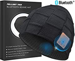 FULLLIGHT TECH Bluetooth Beanie offer you a different Winter Happy time. FULLLIGHT TECH has been selling Bluetooth Beanies Hats for Sevaral years,we commit to provide the best products to our valued customers.The upgraded bluetooth beanie ado...