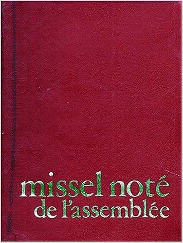 Lire en ligne MISSEL NOTE DE L'ASSEMBLEE pdf, epub ebook
