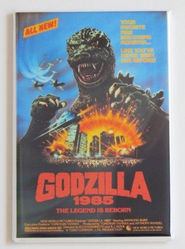 Godzilla 1985 Movie Poster Fridge Magnet (2 x 3 inches) (Magnet Godzilla)