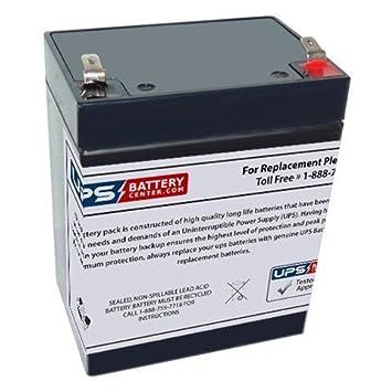 Amazon.com: Leoch LP12 – 2,9 12 V, 2,9 Ah Batería de ...