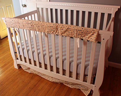 Crib Rail Cover & Crib Skirt