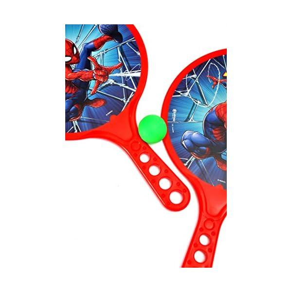 Racchettoni Spider-Man (cm 37x24) in plastica 5 spesavip