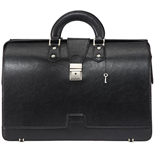 Ronts Lawyers Leather Professional Briefcase product image