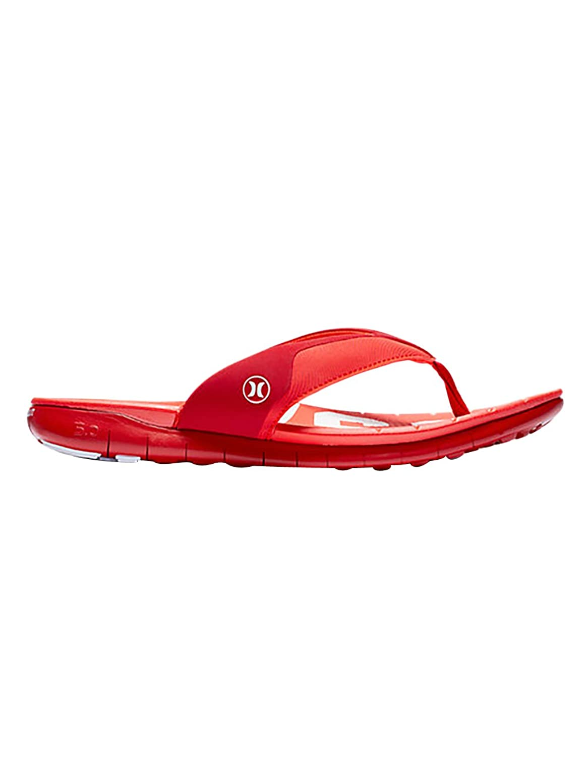 Mens Hurley One & Only Printed Red Sandals Z29880
