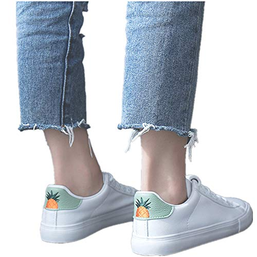 Birdfly Men Women Causal Canvas Shoes Lace-Up High Ankle Boots Shoeses (US:6.5, -