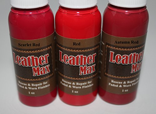 Quick Company. Please look for your best color match from the pictures Leather Refinish an Aid to Color Restorer 1 Ounce Tester Bottle (Autumn Red) (Leather Repair) (Vinyl Repair)