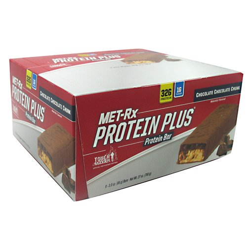 MET-Rx Protein Plus Protein Bar - Chocolate Chocolate Chunk 9/3.0 oz (85 grams) Bar(S)