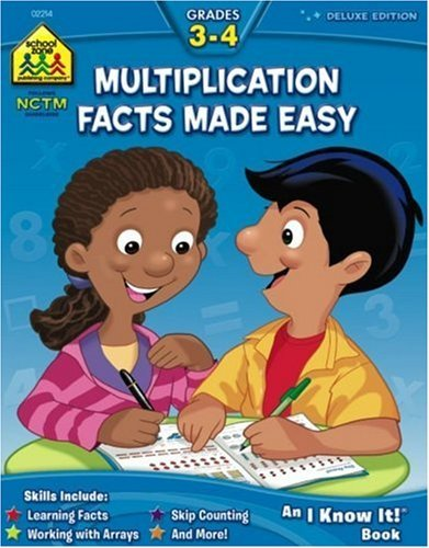 Download By Barbara Bando - Multiplication Facts Made Easy 3-4 (Deluxe) (2004-09-15) [Paperback] PDF
