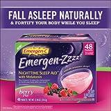 Emergen-Zzzz Nighttime Sleep Aid, Mellow Berry, (2 Pack of 24 Packets)