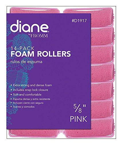 - Diane Foam Rollers, Pink, 5/8