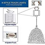 Kiven H-Type Track Pendant Lighting