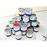 Box of 6 Assorted Humbrol Airfix Enamel Paints. You email the colours you require.