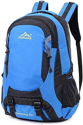 BAJIMI ハイキングバックパック、学生のバックパック、男性女性のための旅行バックパック防水通気性のトレッキングハイキング登山クライミングキャンプリュックサック(60L)