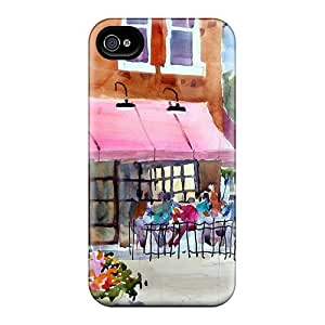 Ultra Slim Fit Hard ChrisArnold Cases Covers Specially Made For Iphone 6- Watercolor