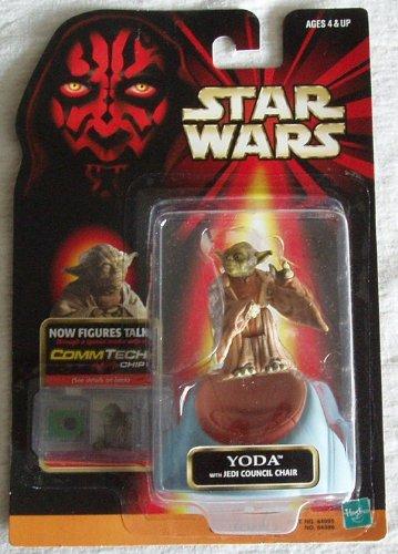 Star Wars Episode 1 Comtech Basic Figure Yoda