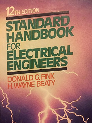 STANDARD HANDBOOK FOR ELECTRICAL ENGINEERS 12th Edition