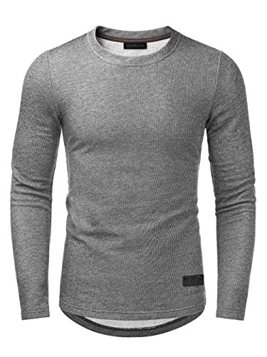 Long Sleeve Fitted Crew Tee - 6