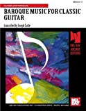 img - for BAROQUE GUITAR MUSIC book / textbook / text book